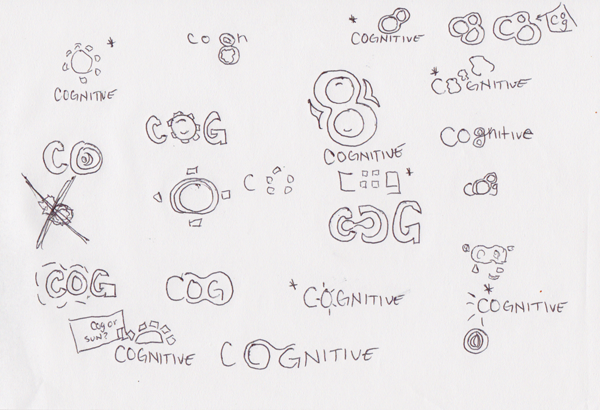 Cognitive Communication Brand sketches